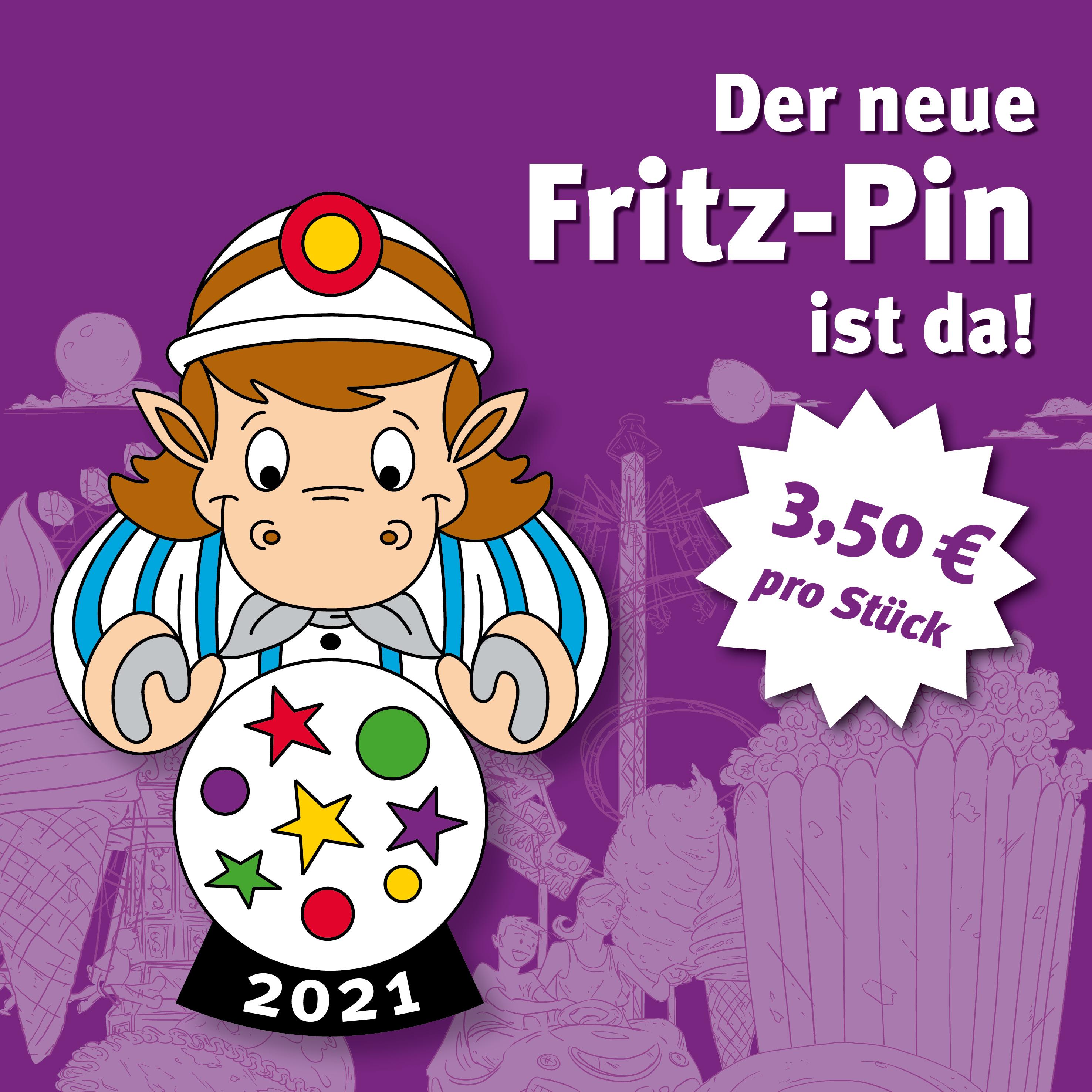 Neuer Pin zeigt Fritz als Wahrsager