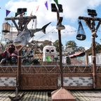 Der Piratenfluss zum ersten Mal auf dem Bremer Freimarkt